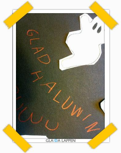 Glad Haluwin (hur stavade du till Halloween när du var 6 år?)